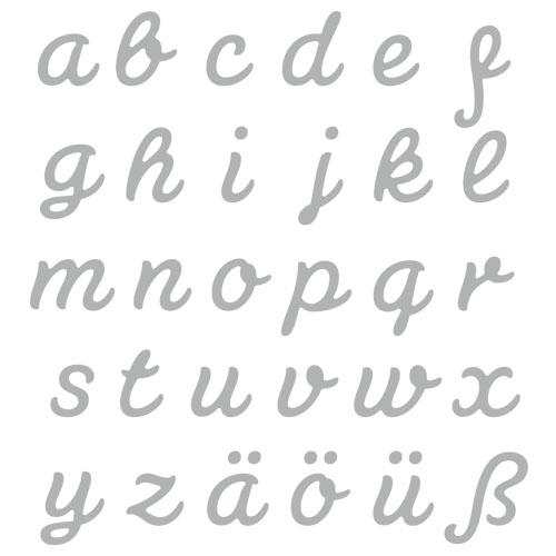Encuny alfabet connectat minúscula