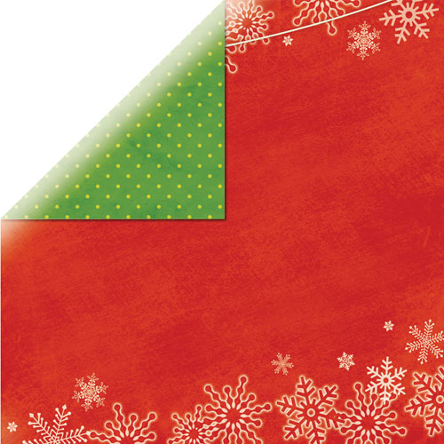Papel doble cara 30,5 x 30,5 cm. Christmas 4 Socks