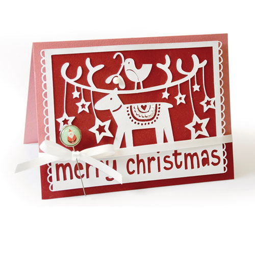 Sizzix Thinlits Die- Merry Christmas