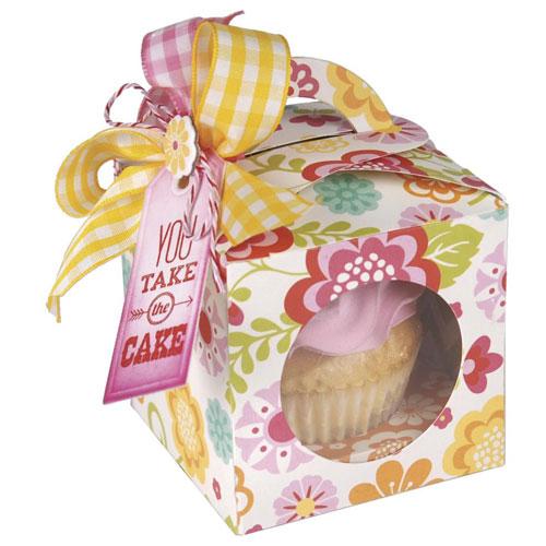 Troquel Sizzix Bigz. Caja cupcake