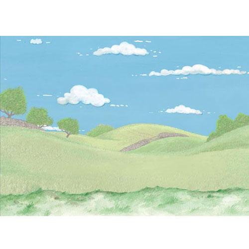 Country Dales. Lamina A4