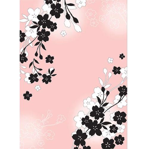 Cherry Blossom. Lamina A4