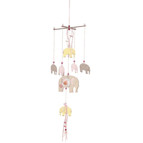 Móvil elefantes montable 9 piezas