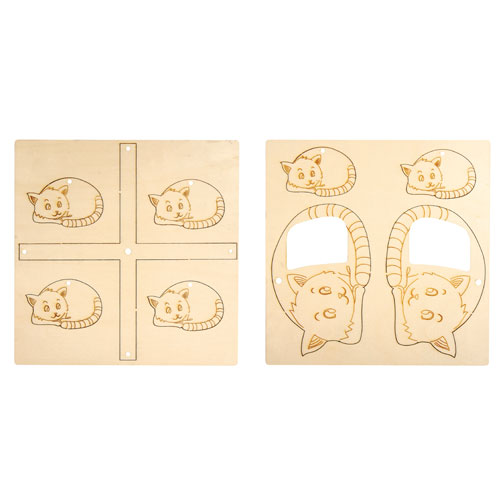 Móvil gatitos montable 9 piezas