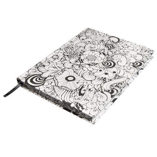 Bloc de notas Blanco Tangle Orquidia 15,9x20,9 cm