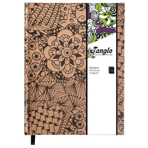 Bloc de notas Kraft Tangle Cameo 15,9x20,9 cm