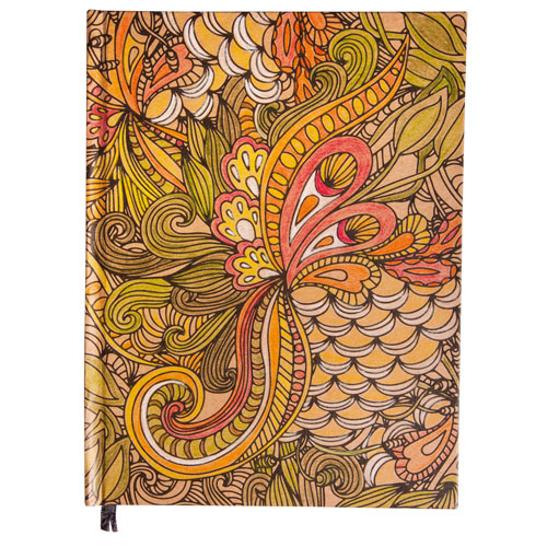 Bloc de notas Kraft Tangle Jungle15,9x20,9 cm