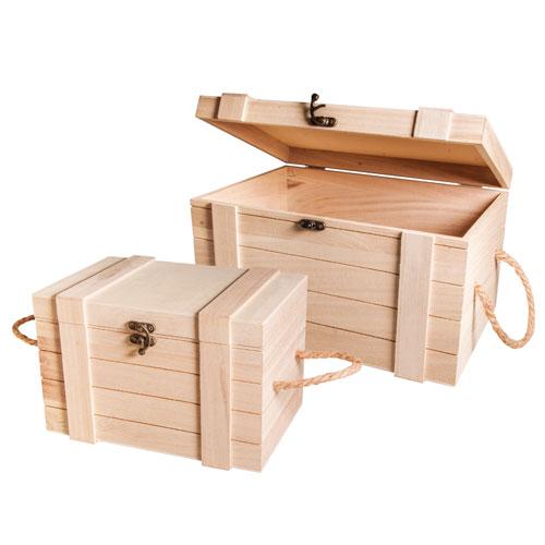 Kit 2 baules 30x20,5x17,3 cm y 24x16x15,5 cm