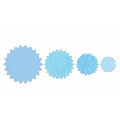 Troquel Framelit Sizzix. 4 círculos zig-zag