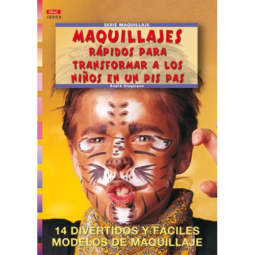 Revista maquillajes rápidos para transformar a los niños