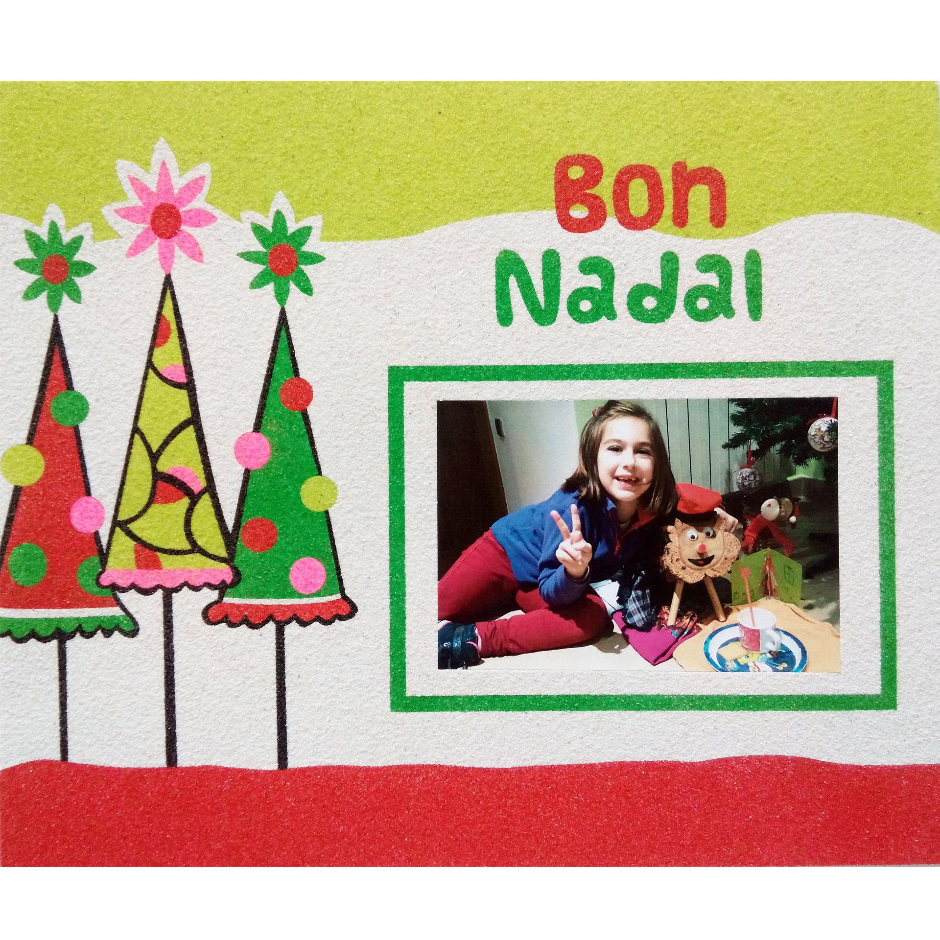 Memory 3 Arbres Bon Nadal. 30x25 cm