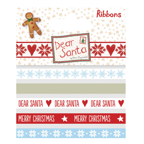 Surtido 5 cintas x 1 m. Dear Santa