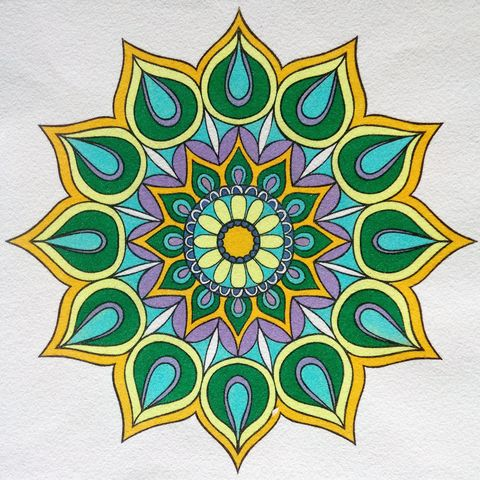 Mandala 8. 2 medidas