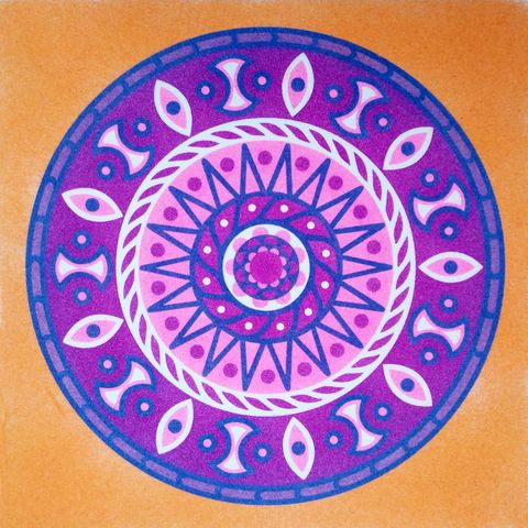 Mandala 9. 2 medidas