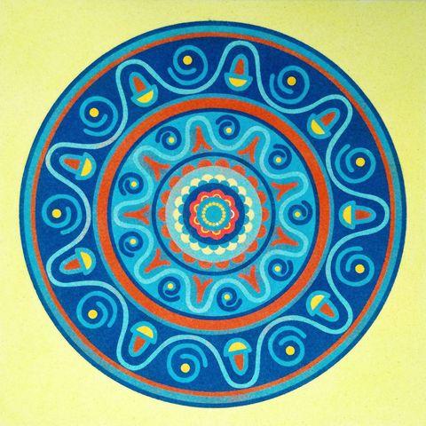 Mandala 10. 2 medidas