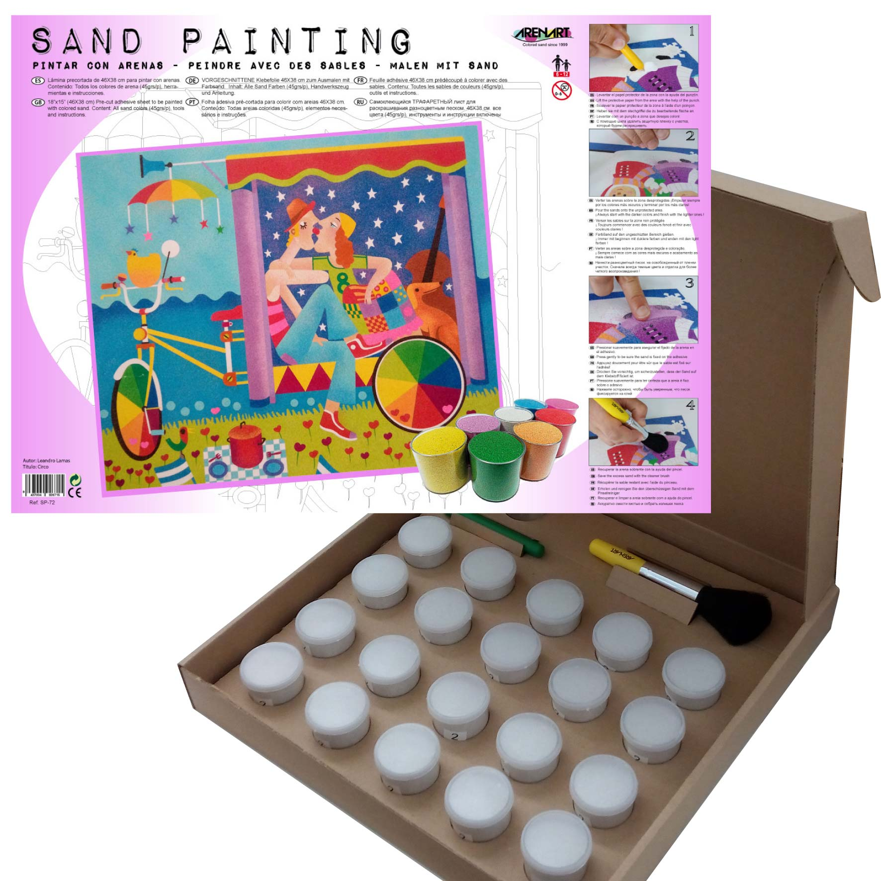 Sand Painting Circo
