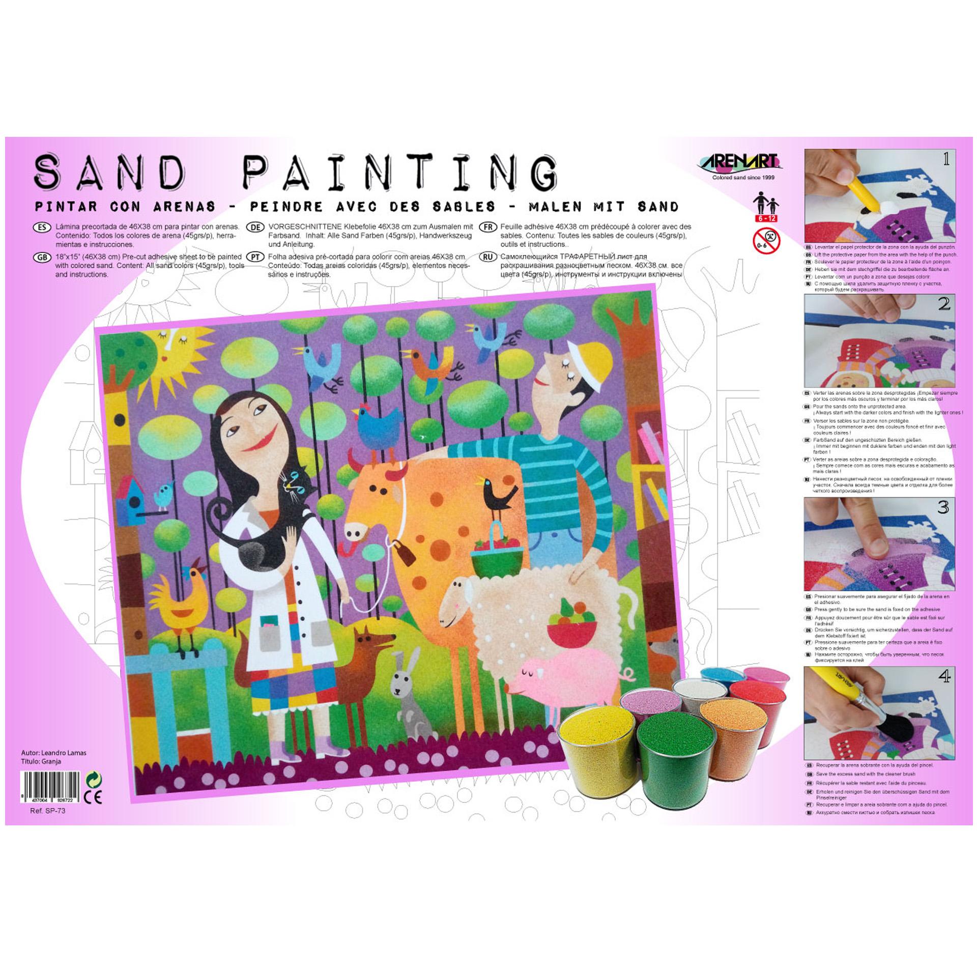 Sand Painting Granja