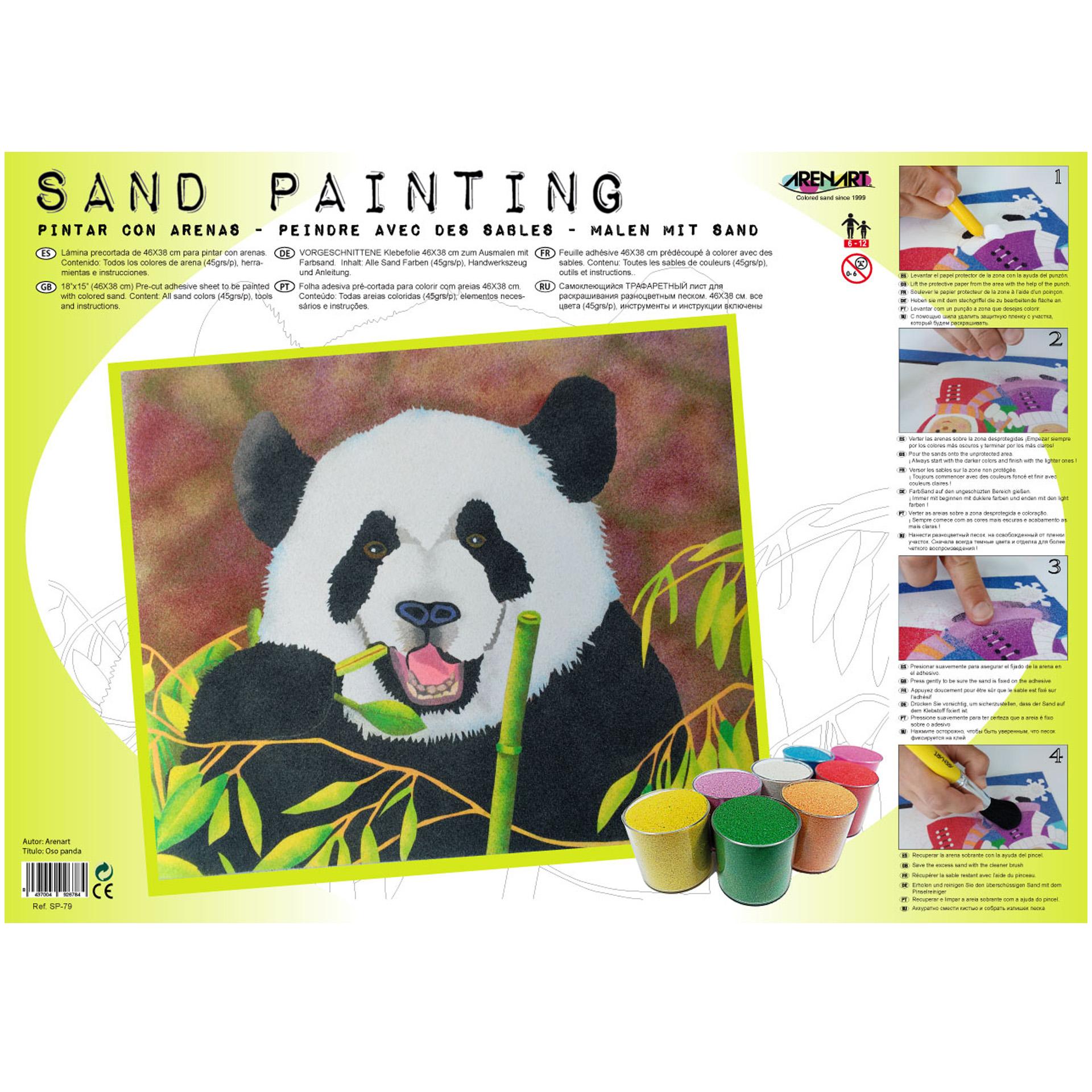 Comprar kits Arenart para pintar con arenas de colores | EARENART