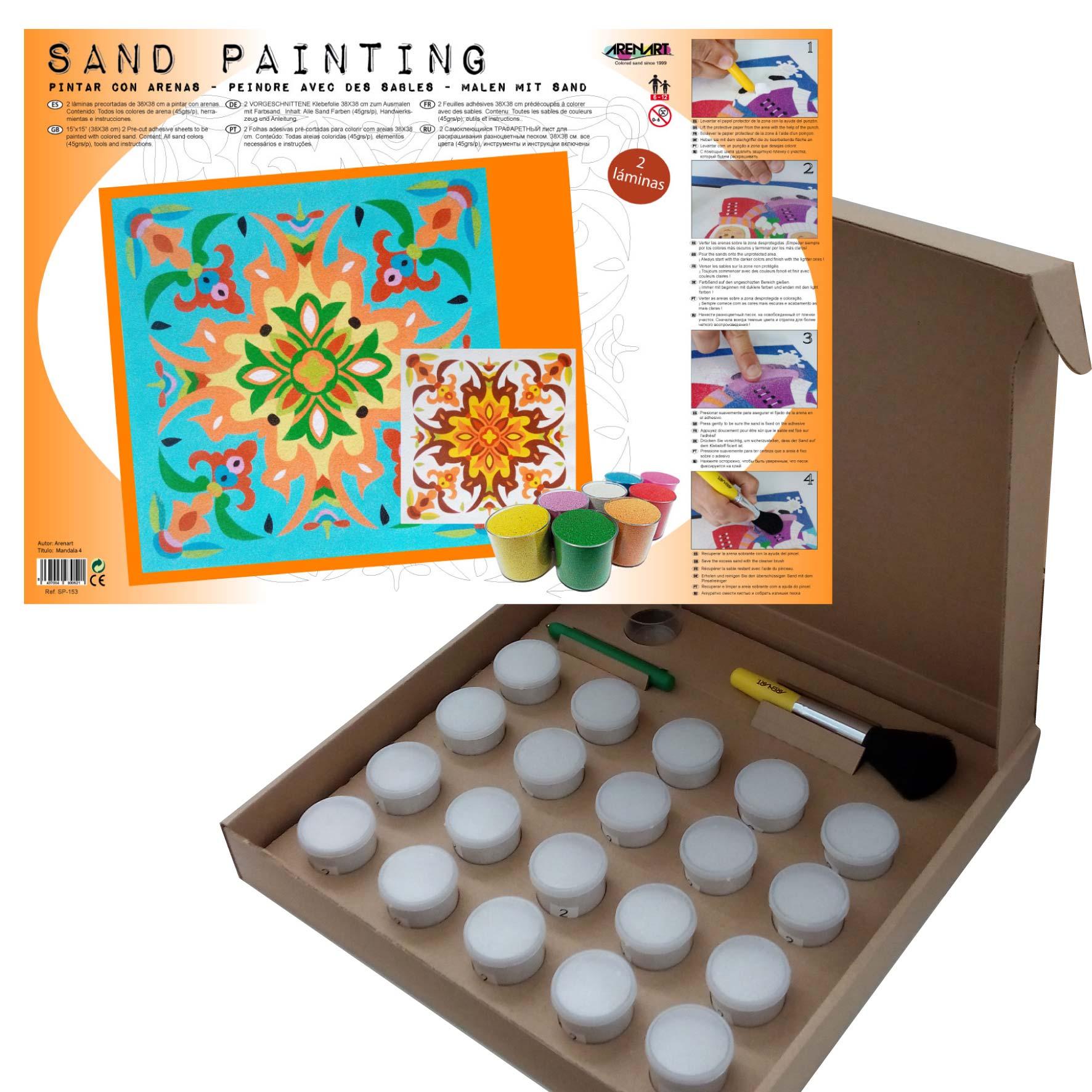 Sand Painting Mandalas 4