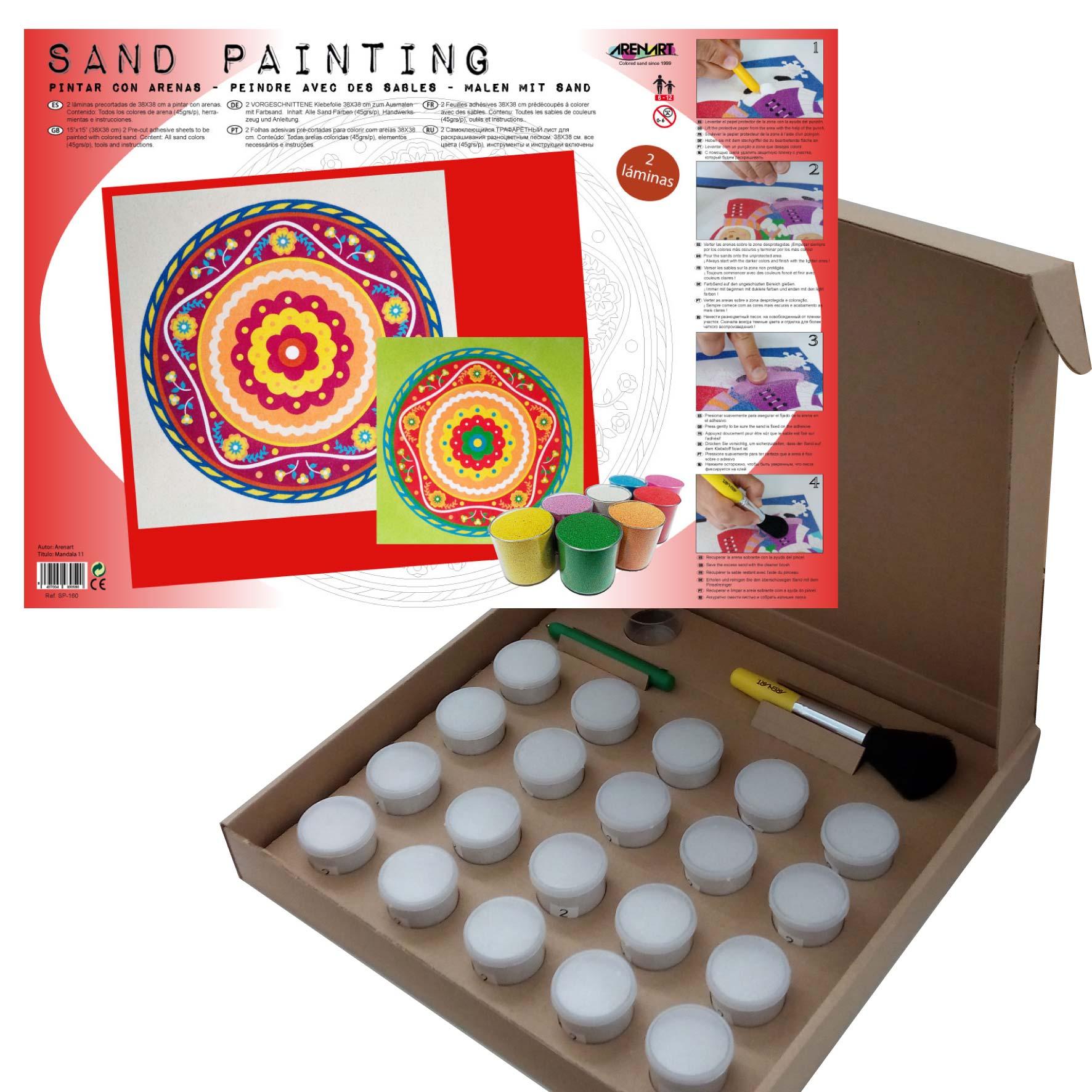 Sand Painting Mandalas 11