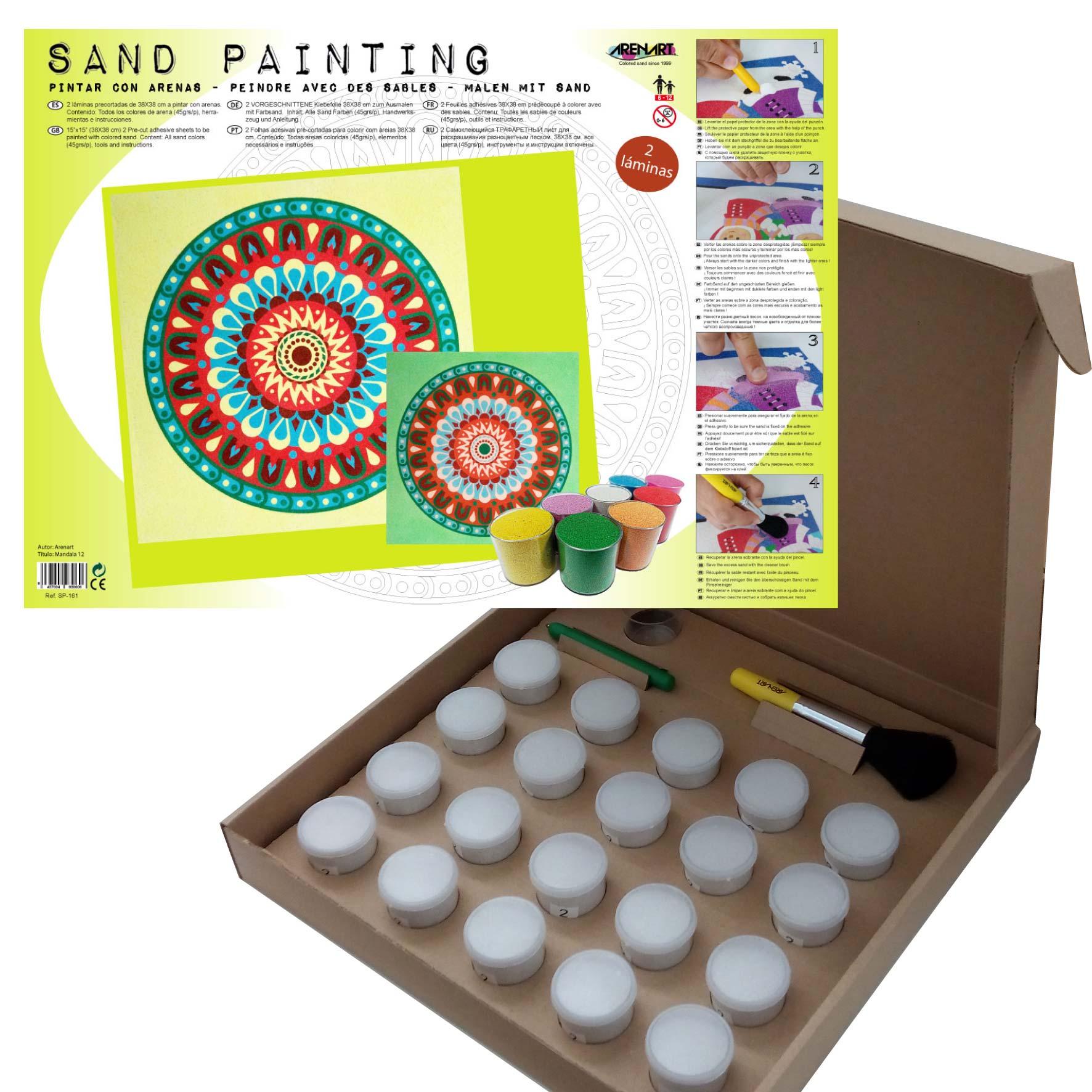 Sand Painting Mandalas 12
