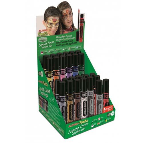 Expositor maquillaje liquid Liner