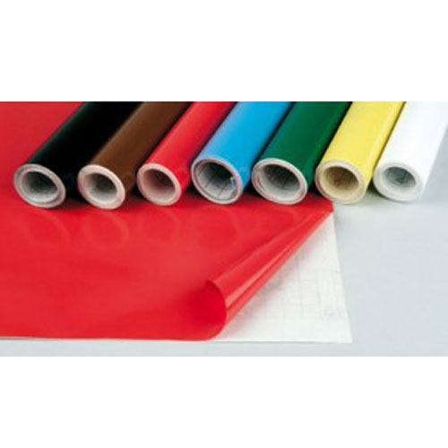 Film adhesivo de colores. Rollo 50 cm x 3 m.