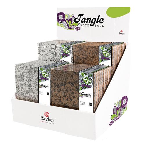 Expositor 32 blocs de nota Tangle
