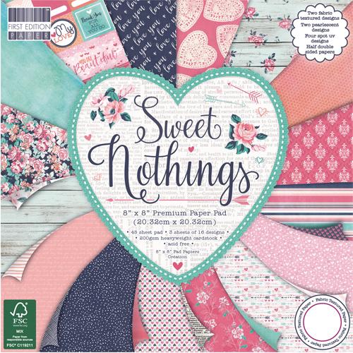 48 papeles 20,3 x 20,3 cm. Sweet Nothings