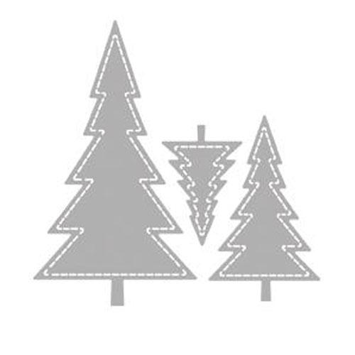 Troquel Arbol Navidad 8,3x8,2 cm