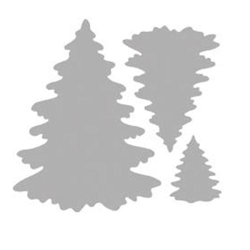 Troquel Abetos 8x7,3 cm