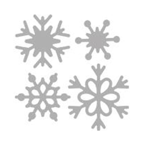 Troquel Copito Nieve 5,7x5,7 cm