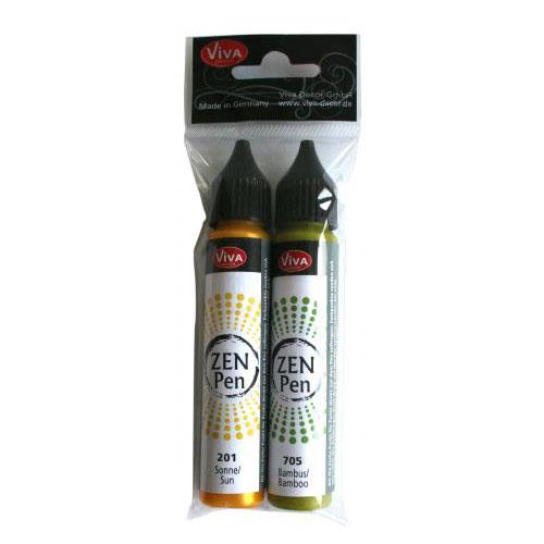 Kit 2 Zen Pen. Amarillo Sol y Bambú
