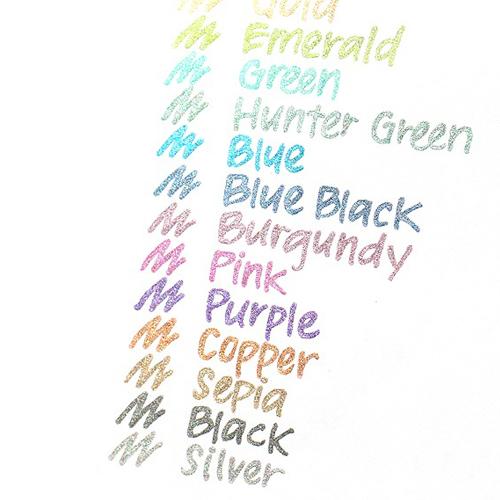 Bolígrafo de Gel Metálico. 14 colores