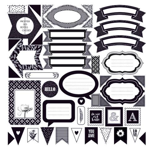 Kit Smasch Book Black & White. Artemio