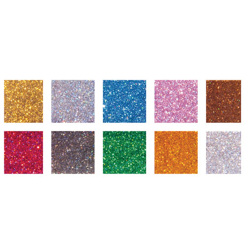 Mosaico Acrílico colores Gliter 1x1 cm 300 gr.