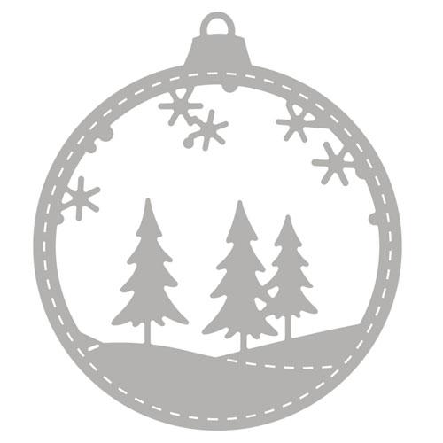 Troquel Bola Navidad