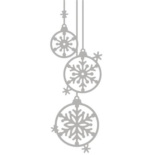 Troquel Bolas Navidad 4,1x12,1cm