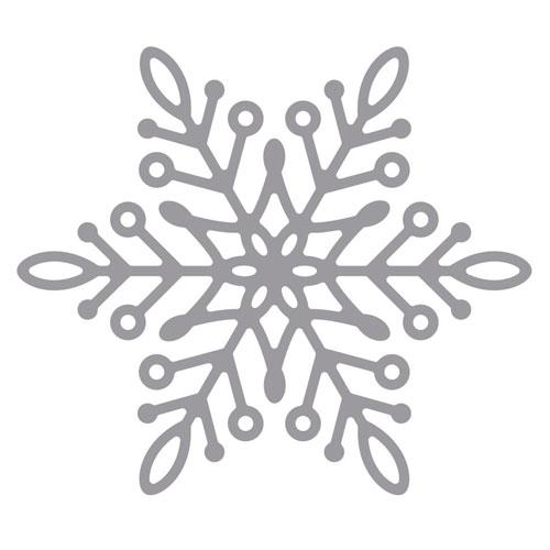 Troquel Copo Nieve