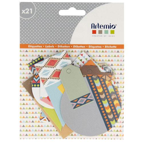 21 etiquetas tag. Totem