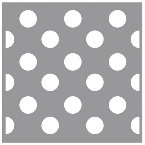 Stencil 30,5x30,5 cm. Puntos