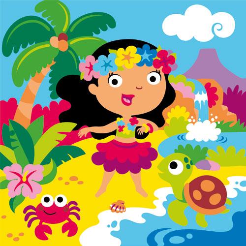 Sand Painting Princesas del Mundo
