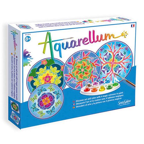 Aquarellum mandalas animales