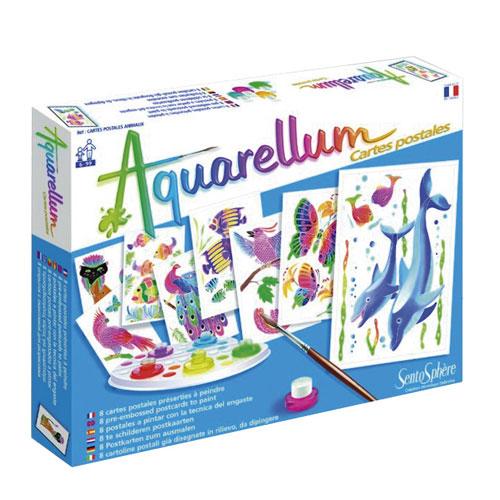 Aquarellum postales animales