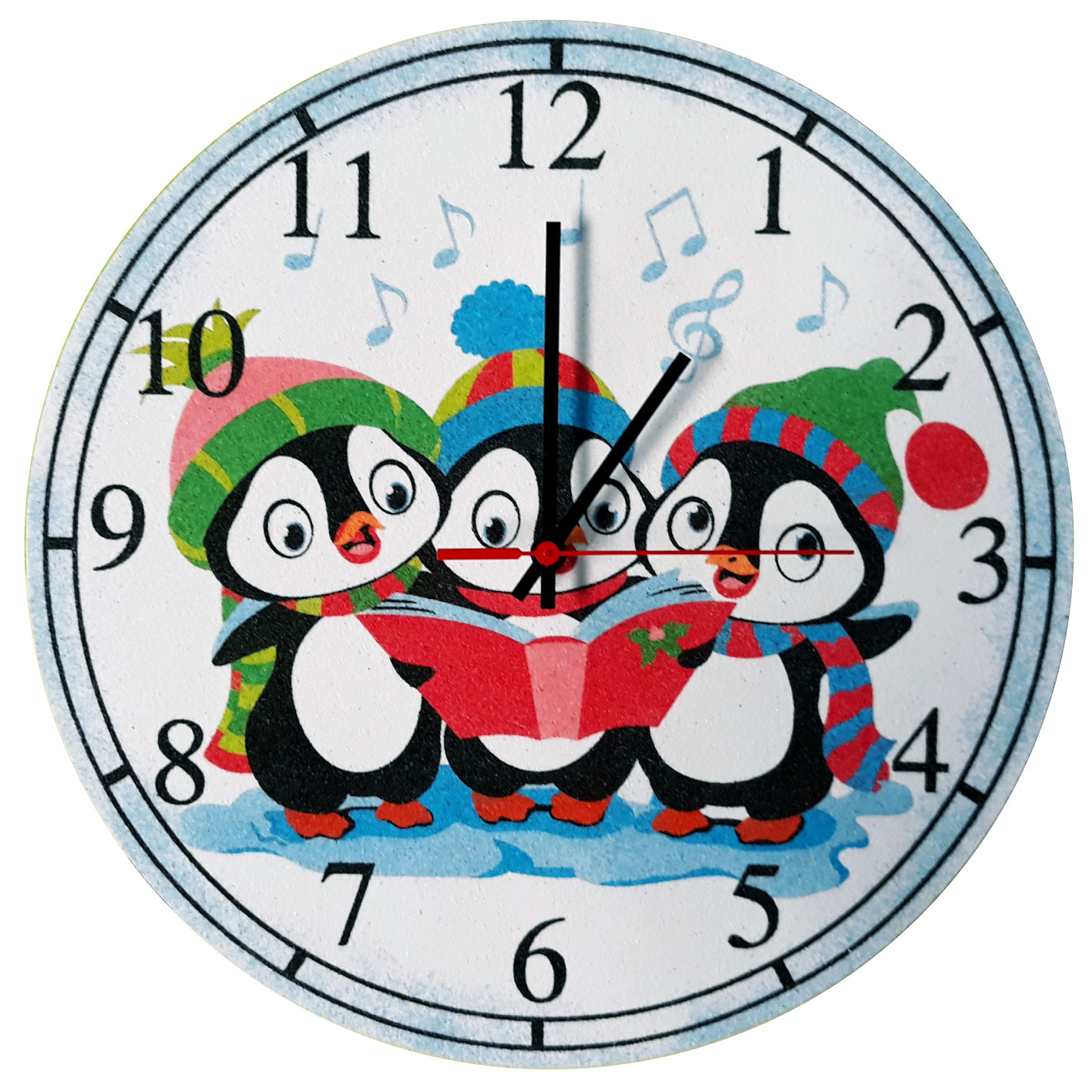 RELOJ Pingüinos Ø 30 cm