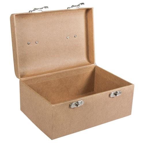Maletin carton 2 medidas. 19x13x9 cm y 24x16x11 cm