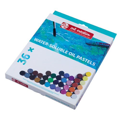 Set 36 barras pastel Oleo Soluble en agua Art Creation