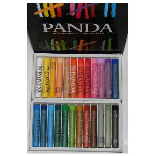 Set 24 barras pastel Oleo Panda