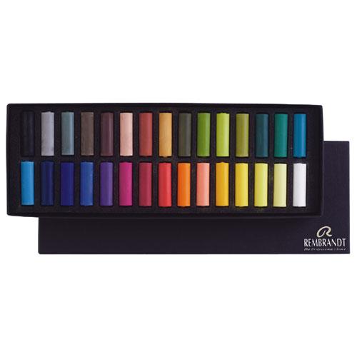 Set 30 medias barras pastel Rembrandt 300C30.5