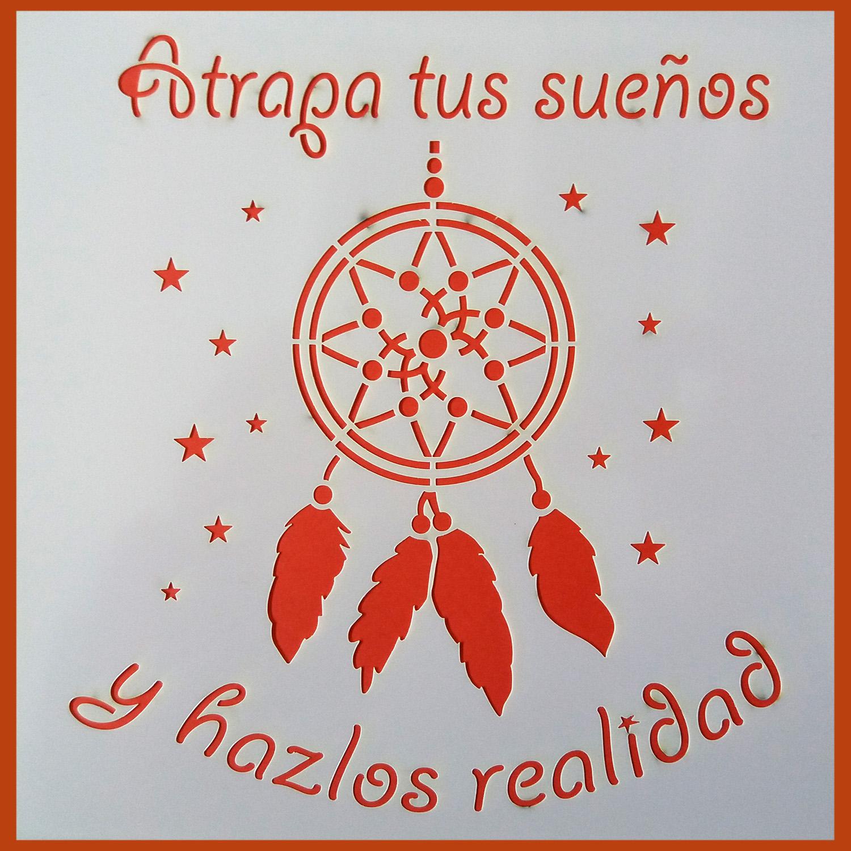 Stencil Atrapasueños 8 20x20 cm